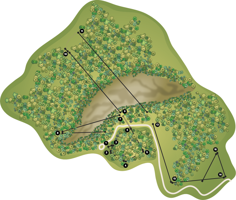 Kerfoot course map