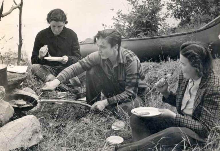 Grandma Justine (center)